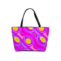Noise Texture Graphics Generated Shoulder Handbags by Onesevenart