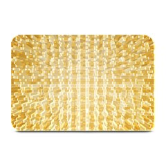 Pattern Abstract Background Plate Mats by Onesevenart