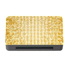 Pattern Abstract Background Memory Card Reader With Cf by Onesevenart