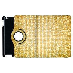 Pattern Abstract Background Apple Ipad 3/4 Flip 360 Case by Onesevenart