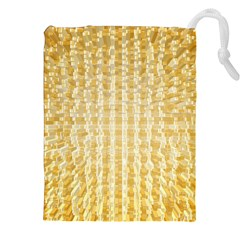 Pattern Abstract Background Drawstring Pouches (xxl) by Onesevenart
