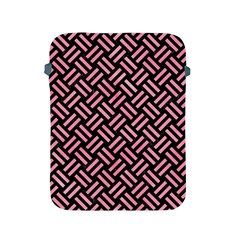 Woven2 Black Marble & Pink Watercolor (r) Apple Ipad 2/3/4 Protective Soft Cases by trendistuff