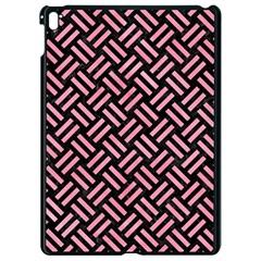 Woven2 Black Marble & Pink Watercolor (r) Apple Ipad Pro 9 7   Black Seamless Case by trendistuff