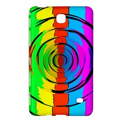 Pattern Colorful Glass Distortion Samsung Galaxy Tab 4 (8 ) Hardshell Case  by Onesevenart