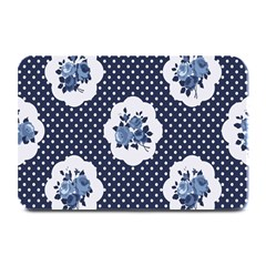 Shabby Chic Navy Blue Plate Mats by 8fugoso