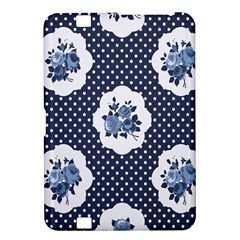 Shabby Chic Navy Blue Kindle Fire Hd 8 9  by 8fugoso