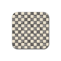 Pattern Background Texture Rubber Square Coaster (4 Pack)  by Onesevenart