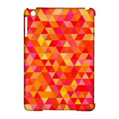 Triangle Tile Mosaic Pattern Apple Ipad Mini Hardshell Case (compatible With Smart Cover) by Onesevenart