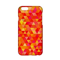 Triangle Tile Mosaic Pattern Apple Iphone 6/6s Hardshell Case by Onesevenart