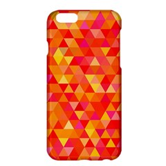 Triangle Tile Mosaic Pattern Apple Iphone 6 Plus/6s Plus Hardshell Case by Onesevenart