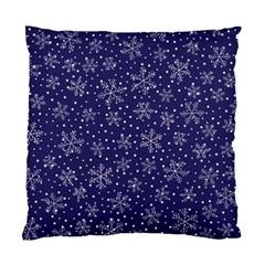 Snowflakes Pattern Standard Cushion Case (one Side) by Onesevenart
