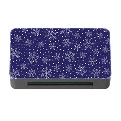 Snowflakes Pattern Memory Card Reader With Cf by Onesevenart