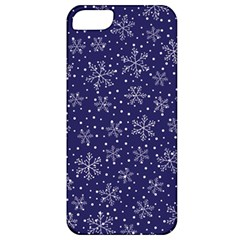 Snowflakes Pattern Apple Iphone 5 Classic Hardshell Case by Onesevenart