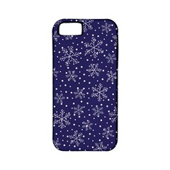 Snowflakes Pattern Apple Iphone 5 Classic Hardshell Case (pc+silicone) by Onesevenart