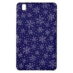 Snowflakes Pattern Samsung Galaxy Tab Pro 8 4 Hardshell Case by Onesevenart