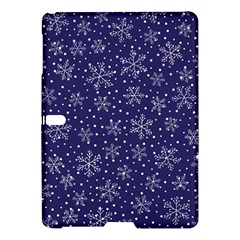 Snowflakes Pattern Samsung Galaxy Tab S (10 5 ) Hardshell Case  by Onesevenart