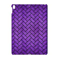 Brick2 Black Marble & Purple Brushed Metal Apple Ipad Pro 10 5   Hardshell Case by trendistuff