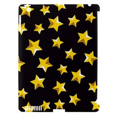 Yellow Stars Pattern Apple Ipad 3/4 Hardshell Case (compatible With Smart Cover) by Onesevenart