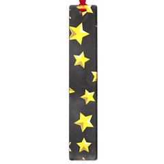 Yellow Stars Pattern Large Book Marks by Onesevenart
