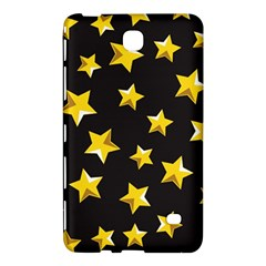 Yellow Stars Pattern Samsung Galaxy Tab 4 (8 ) Hardshell Case  by Onesevenart