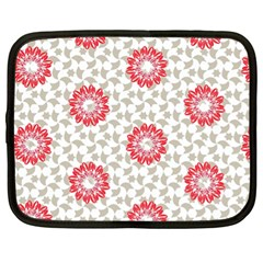 Stamping Pattern Fashion Background Netbook Case (xl)  by Onesevenart