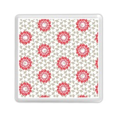 Stamping Pattern Fashion Background Memory Card Reader (square)  by Onesevenart