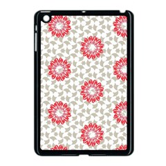 Stamping Pattern Fashion Background Apple Ipad Mini Case (black) by Onesevenart