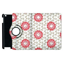 Stamping Pattern Fashion Background Apple Ipad 2 Flip 360 Case by Onesevenart