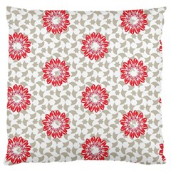 Stamping Pattern Fashion Background Large Flano Cushion Case (two Sides) by Onesevenart