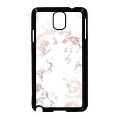 Pure And Beautiful White Marple And Rose Gold, Beautiful ,white Marple, Rose Gold,elegnat,chic,modern,decorative, Samsung Galaxy Note 3 Neo Hardshell Case (black) by 8fugoso