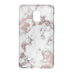 Pure And Beautiful White Marple And Rose Gold, Beautiful ,white Marple, Rose Gold,elegnat,chic,modern,decorative, Galaxy Note Edge by 8fugoso