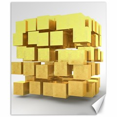 Gold Bars Feingold Bank Canvas 8  X 10  by Onesevenart