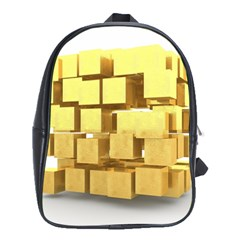 Gold Bars Feingold Bank School Bag (xl) by Onesevenart
