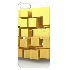 Gold Bars Feingold Bank Apple Iphone 5 Hardshell Case With Stand by Onesevenart