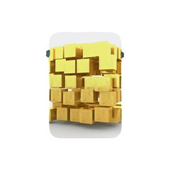 Gold Bars Feingold Bank Apple Ipad Mini Protective Soft Cases by Onesevenart