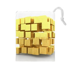 Gold Bars Feingold Bank Drawstring Pouches (large)