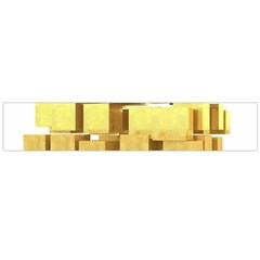 Gold Bars Feingold Bank Flano Scarf (large) by Onesevenart