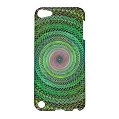 Wire Woven Vector Graphic Apple Ipod Touch 5 Hardshell Case by Onesevenart
