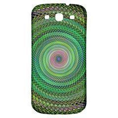Wire Woven Vector Graphic Samsung Galaxy S3 S Iii Classic Hardshell Back Case by Onesevenart