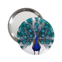 Peacock Bird Peacock Feathers 2 25  Handbag Mirrors by Onesevenart