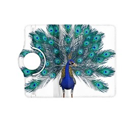 Peacock Bird Peacock Feathers Kindle Fire Hd (2013) Flip 360 Case by Onesevenart