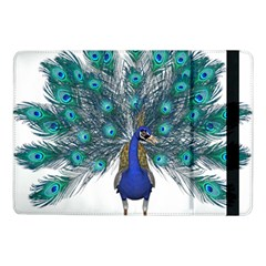Peacock Bird Peacock Feathers Samsung Galaxy Tab Pro 10 1  Flip Case by Onesevenart