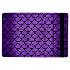 Scales1 Black Marble & Purple Brushed Metal Ipad Air 2 Flip by trendistuff