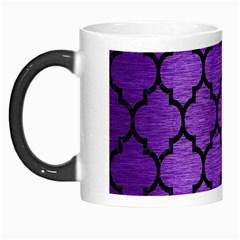 Tile1 Black Marble & Purple Brushed Metal Morph Mugs by trendistuff