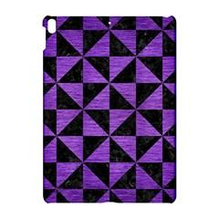 Triangle1 Black Marble & Purple Brushed Metal Apple Ipad Pro 10 5   Hardshell Case by trendistuff