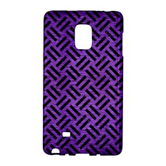 Woven2 Black Marble & Purple Brushed Metalwoven2 Black Marble & Purple Brushed Metal Galaxy Note Edge by trendistuff