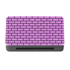 Brick1 Black Marble & Purple Colored Pencil Memory Card Reader With Cf by trendistuff