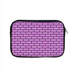 Brick1 Black Marble & Purple Colored Pencil Apple Macbook Pro 15  Zipper Case