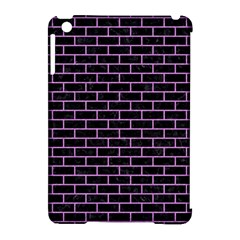 Brick1 Black Marble & Purple Colored Pencil (r) Apple Ipad Mini Hardshell Case (compatible With Smart Cover) by trendistuff