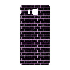 Brick1 Black Marble & Purple Colored Pencil (r) Samsung Galaxy Alpha Hardshell Back Case by trendistuff